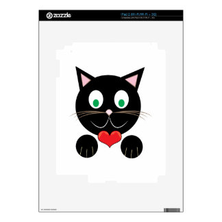 Black Kitty Skin For The iPad 2