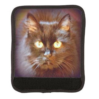 black kittycat luggage handle wrap