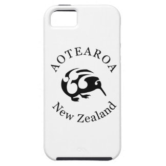 Black KIWI with Koru iPhone SE/5/5s Case