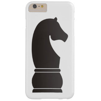 Black knight chess piece barely there iPhone 6 plus case