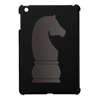 Black knight chess piece case for the iPad mini