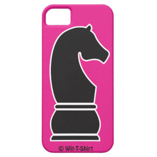 Black Knight, iphone case, chess Piece, wit-t-shir iPhone 5 Cover