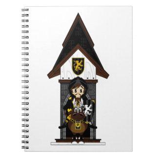 Black Knight on Horseback Notebook