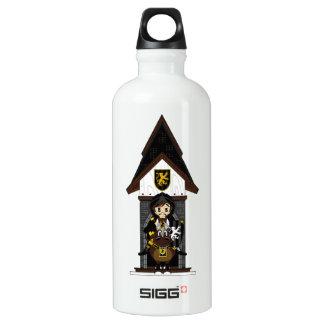 Black Knight on Horseback Water Bottle