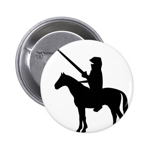 black Knight Pinback Button