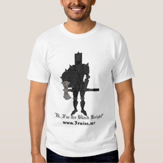 Black Knight with Axe Tee