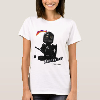 Black Knight (with logos) T-Shirt