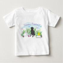 black lab baby T-Shirt