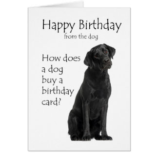 Black Labrador Birthday Cards Invitations Greeting Jpg 324x324 Happy Lab Puppy