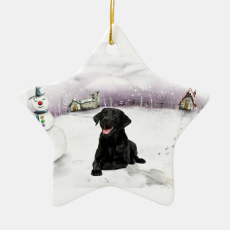 Black Lab Ornaments & Keepsake Ornaments | Zazzle