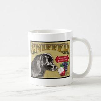 Black Lab Classic White Coffee Mug