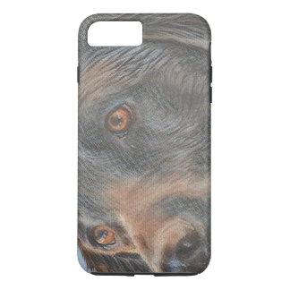 Black Lab Close-up iPhone 8 Plus/7 Plus Case