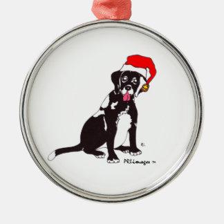 Black Lab Connie Christmas Ornament