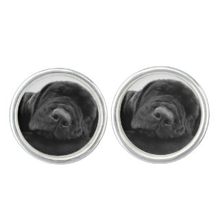 Black Lab Cufflinks