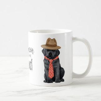 Black Lab Dad Classic White Coffee Mug