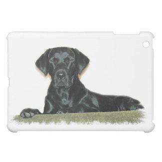 Black Lab Dog iPad Case