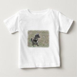 Black Lab Dog Waits Apparel Baby T-Shirt