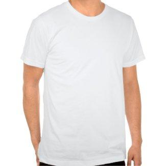 Black lab fetching floatie shirt