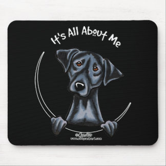 Black Lab Its All About Me Mouse Pad