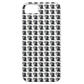 "Black Lab ""Labradot"" Case iPhone 5 Cover"