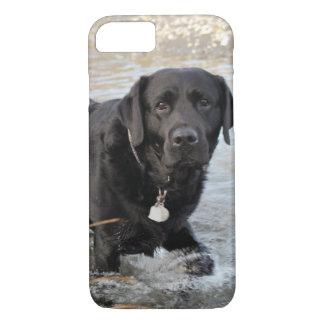 Black Lab Love iPhone 7 Case