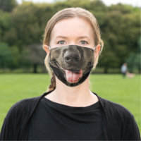 Black Lab Lovers Cloth Face Mask