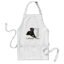 Black Lab Mom Apron