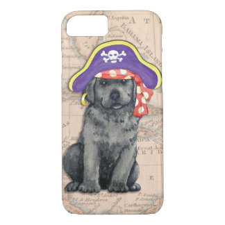 Black Lab Pirate iPhone 7 Case