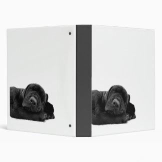 Black Lab Puppy Binder