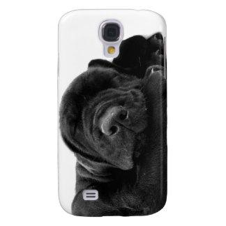 Black Lab Puppy iPhone 3G Case Galaxy S4 Cases