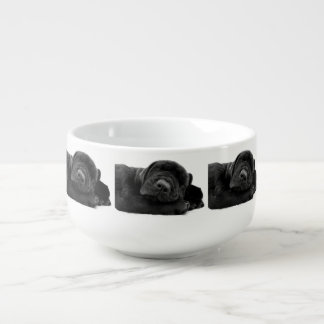Black Lab Soup Mug