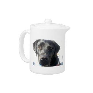 Black Lab Teapot