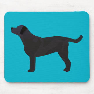 Black Lab Templates Ready to Customize Mouse Pad