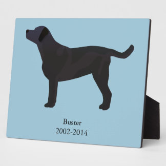 Black Lab Templates Ready to Customize Plaque