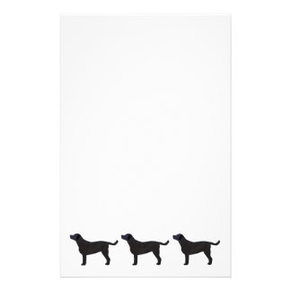 Black Lab Templates Ready to Customize Stationery