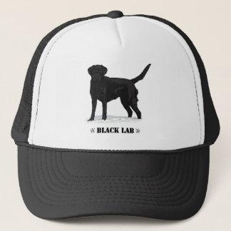 Black Lab Trucker Hat
