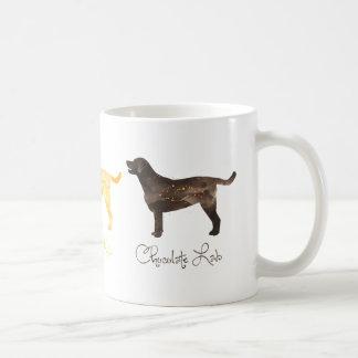 Black Lab Watercolor Classic White Coffee Mug