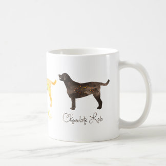 Black Lab Watercolor Coffee Mug
