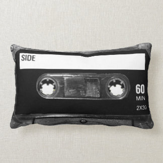 Black Label Cassette Lumbar Pillow
