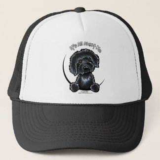 Black Labradodle IAAM Trucker Hat
