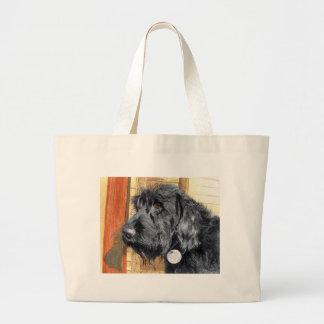 Black Labradoodle #1 Bag