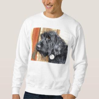 Black Labradoodle #1 Sweatshirt