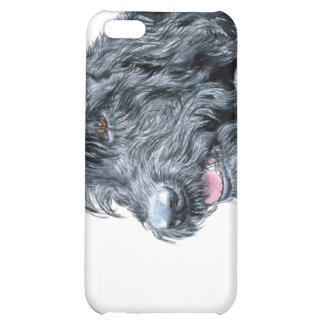Black Labradoodle iPhone 5C Cover