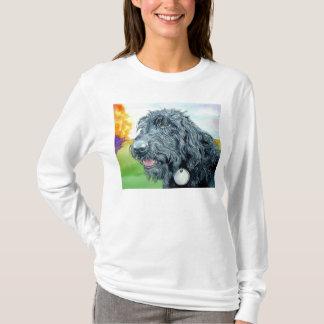 Black Labradoodle Ralph T-shirt