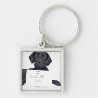 Black Labrador 13 Months Keychain