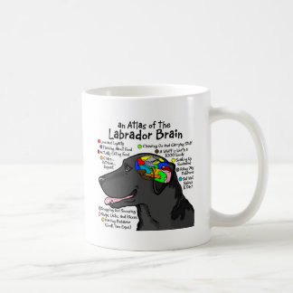 Black Labrador Brain Atlas Mugs