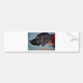 black labrador bumper sticker