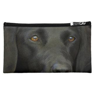 Black Labrador Dog Cosmetic Bag