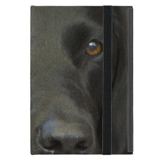 Black Labrador Dog Cover For iPad Mini