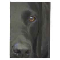 Black Labrador Dog iPad Air Case